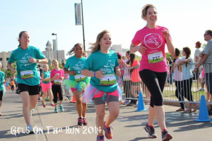 Running GOTR 2014 with Niece