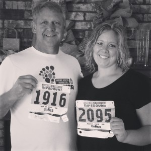 She did it! Her first 10K on 3/31!
