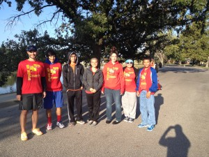South High Volunteers at PFM Fall 2013