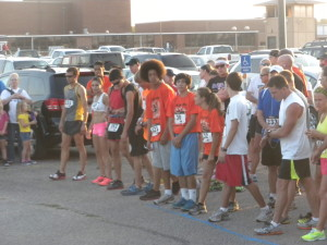 Titan 10K Starting Line 2012